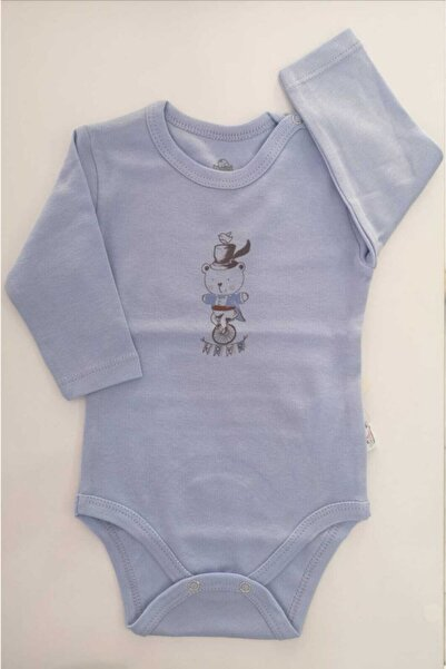 Bimini Erkek Bebek Mavi Hokkabaz Ay Badi