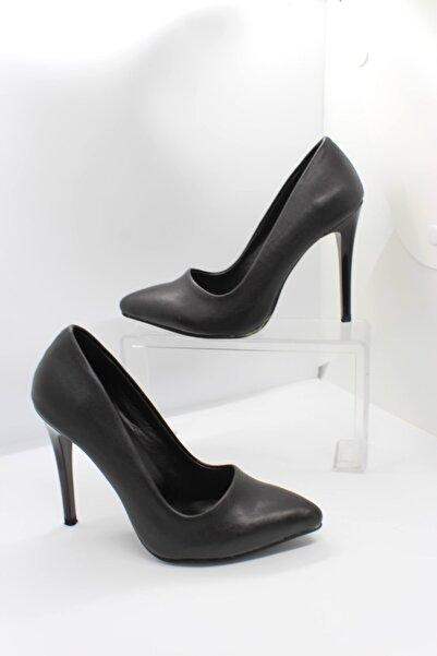 zeynep Kadın Siyah Topuklu Ayakkabı