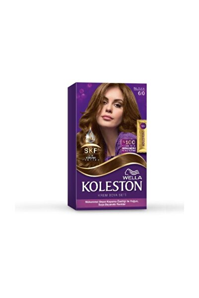 Koleston Set Krem Saç Boyası 6.0 Koyu Kumral