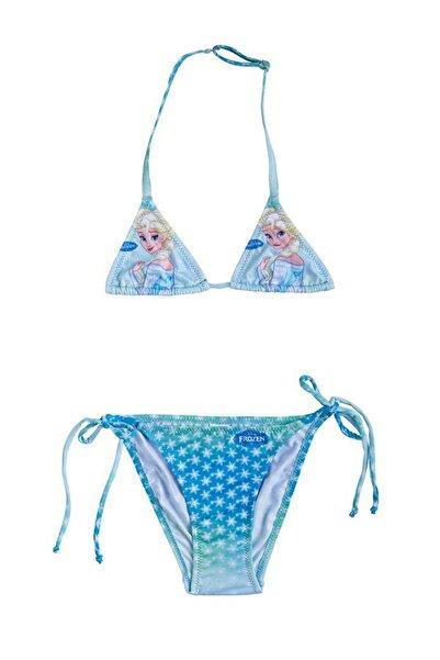 Mavi Kız Çocuk Bikini