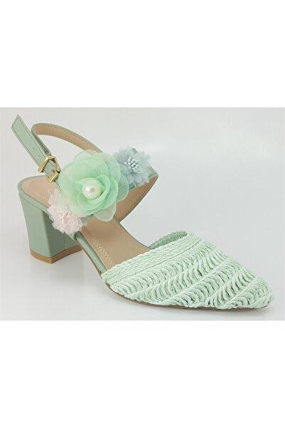 Guja Kadın  Yeşil  Günlük  Sandalet  176