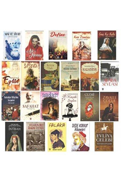 Dorlion Yayınevi Türk Klasikleri Kitap Seti 22 Kitap (100 Temel Eser)