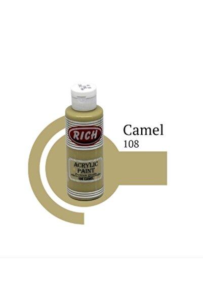 Rich Akrilik Boya 120 Cc Camel