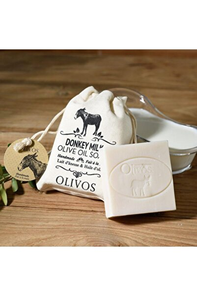 Olivos Eşek Sütlü Zeytinyağı Sabunu 150 Gr (keseli)