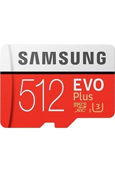 Samsung Evo Plus 512gb 100 Mb/s Microsdxc Kart (sd Adaptör) Mb-mc512ga/eu