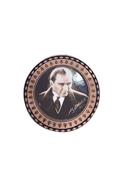 Miray hediyelik Mustafa Kemal Atatürk Bakır Buzdolabı Magneti