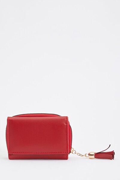 DeFacto Kadın Red Fermuarlı Cüzdan S3415AZ20WN