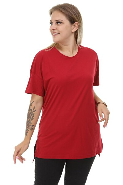 Big Free Kadın Oversize Basic Tshirt