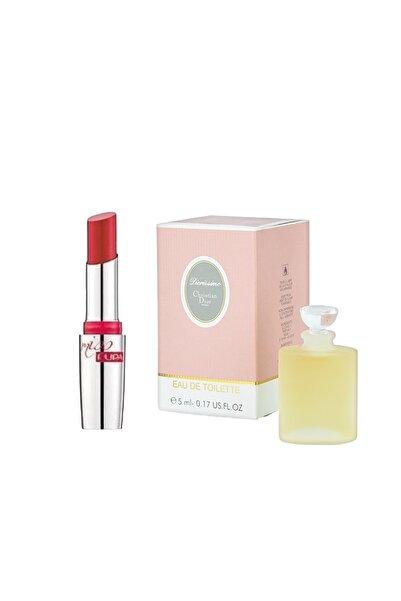Christian Dior Diorissimo 5 Ml Edt Mini Parfüm + Pupa Milano Parlak Ruj 302