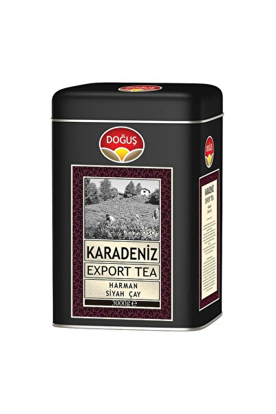Doğuş Doğuş Karadeniz Export Çay 3000 gr Teneke Kutu 8690719107323
