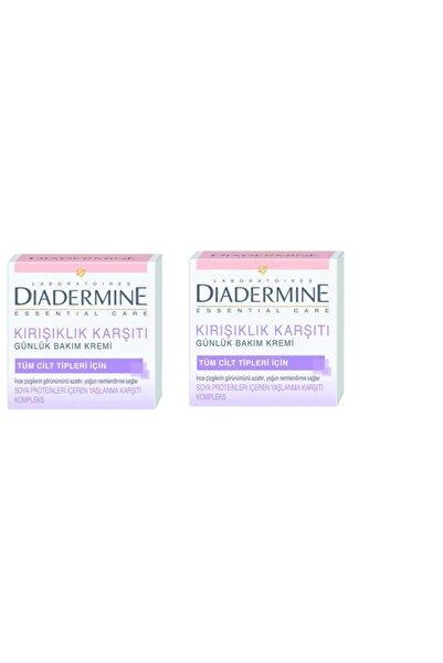 Diadermine Essential Anti Age Gündüz Kremi 50 Ml X 2 Adet