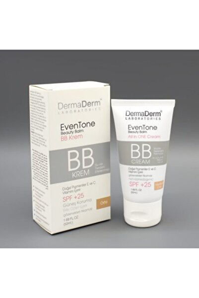 DermaDerm Bb Krem Orta Ton 50 gr