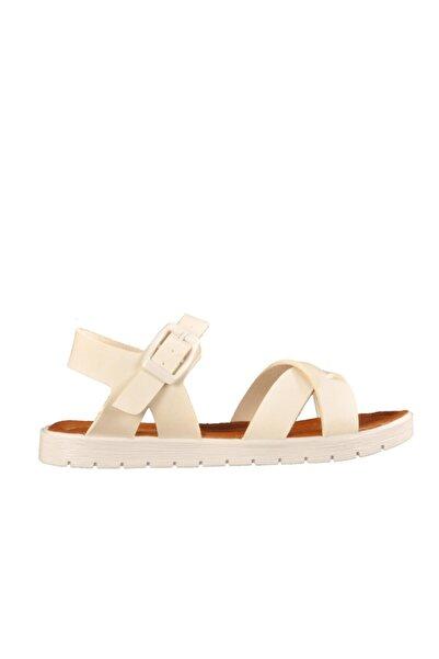 Kız Çocuk Beyaz Günlük Sandalet