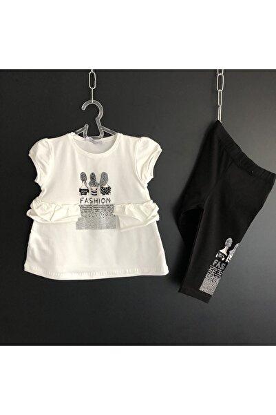 nk kids Kız Çocuk Fashion Taytlı Takım