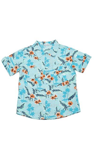 Zeyland Erkek Çocuk Mavi Gömlek