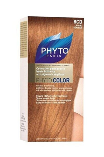 Phyto Pyhtocolor 8cd Kızıl Sarı Saç Boyası