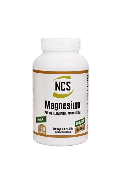Magnesium Malat Glisinat Taurat Zenginleştirilmiş Magnezyum 180 Tablet