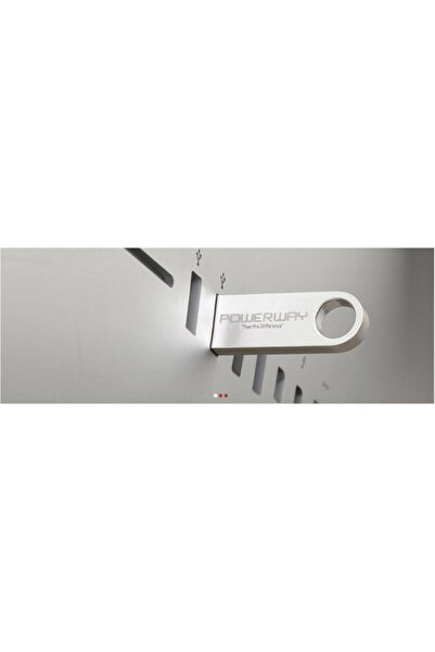 POWERWAY 128 GB METAL USB BELLEK