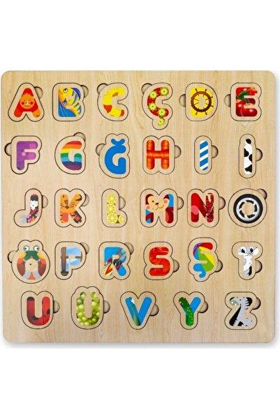MAKETÇİNİZ Türkçe Eğitici Alfabe Yapboz Puzzle