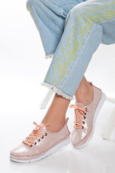 derithy -casual Ayakkabı-pudra