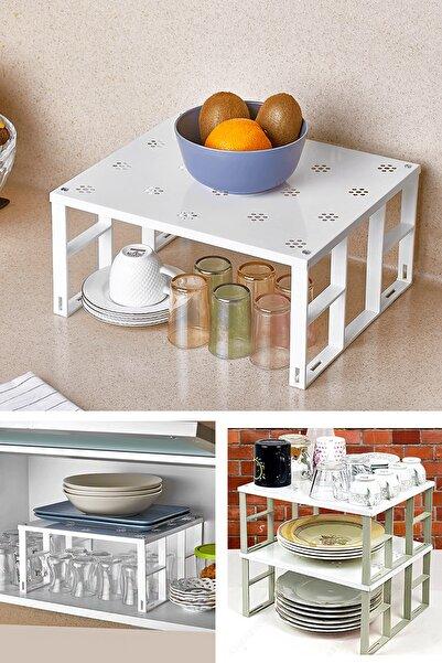 Helen's Home Mutfak Dolap Içi Raf Düzenleyici