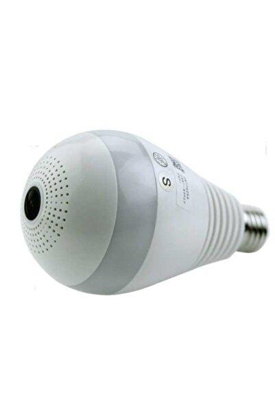 ICS Lamba Kamera 960p 1.3 Mp Wifi Ampul Kamera Kameralı Lamba
