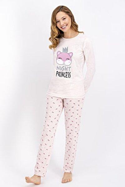 Rolypoly Pembemelanj Night Princess Kadın Pijama Takımı