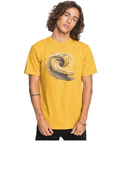 Quiksilver Erkek Sarı Still Waters T-shirt Eqmzt03209-ylv0