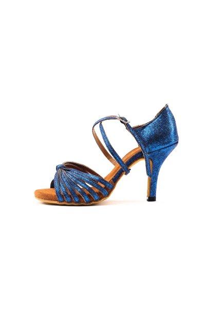 DANS AYAKKABISI Kadın Mavi Topuklu Ayakkabı