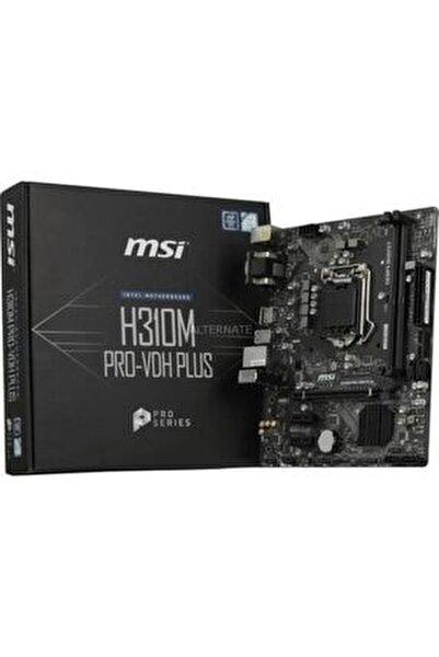 H310m Pro-vdh Plus Soket 1151 Ddr4 2666 Dvı Vga Hdmı Usb3.1 Matx Wın7 Wın10
