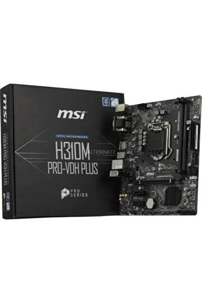 MSI H310m Pro-vdh Plus Soket 1151 Ddr4 2666 Dvı Vga Hdmı Usb3.1 Matx Wın7 Wın10