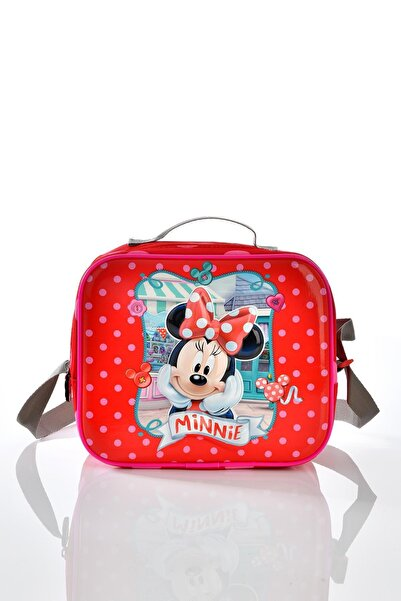 Minnie Mouse Kırmızı Beslenme Çantası