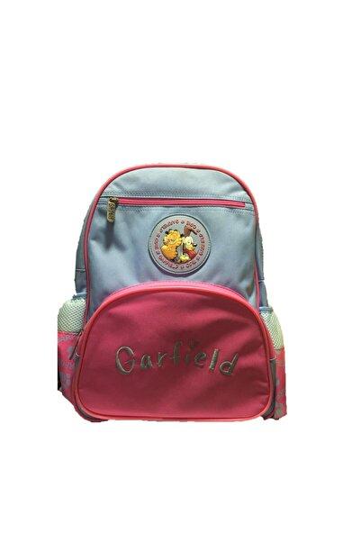 GARFIELD Unisex Kırmızı Garfield Okul Çantası