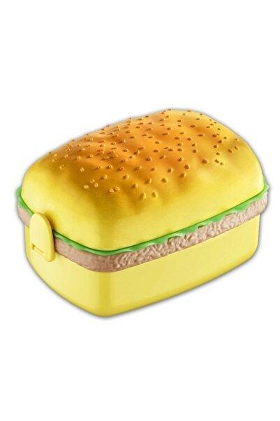 bermeks Beslenme Kabı Sandviç Görünümlü 3 Bölmeli