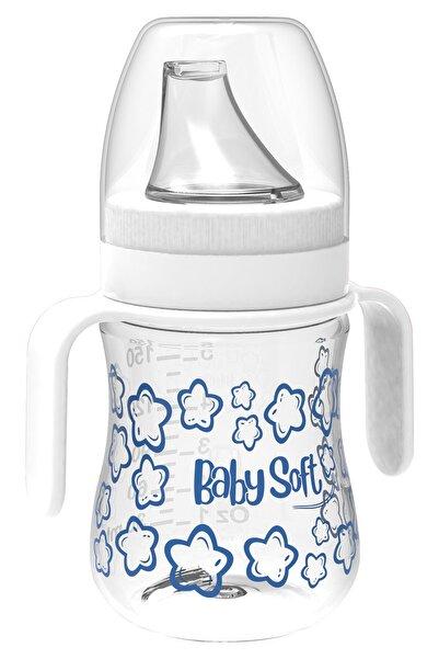 Babysoft 150 Ml Akıtmaz Plastik Suluk Beyaz Kız / Erkek