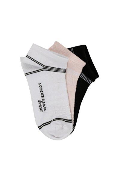 lumberjack Kadın Beyaz Heath Patik Çorap C41