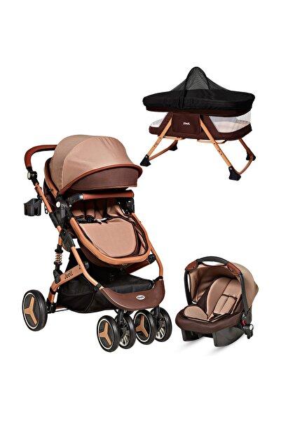 Baby Home Joell Jb-860 Travel Sistem Bebek Arabası Puset Ve Anne Yanı Bebek Sepeti Sepet Beşik