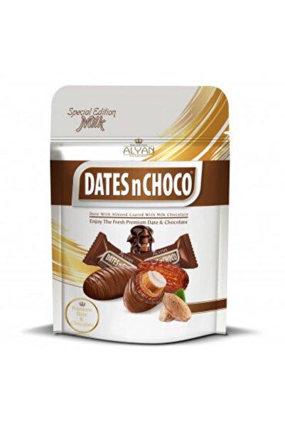 DATESnCHOCO Dates N Choco Sütlü Çikolata Kaplı Bademli Hurma 90 gr
