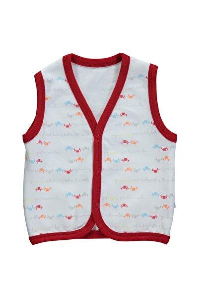 Bebetto Unisex Bebek Kırmızı  Yelek T2181