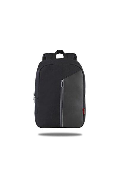Classone Modena Pr-r300m 15.6 Inç Notebook, Laptop Sırt Çantası-siyah-mavi Astar