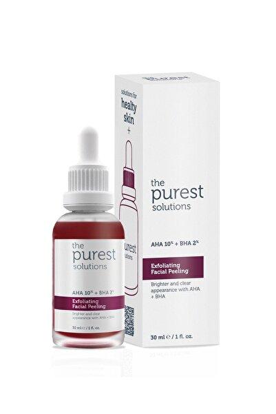 The Purest Solutions Canlandırıcı & Cilt Tonu Eşitleyici Yüz Peeling Serum 30 Ml (aha 10% + Bha 2%)