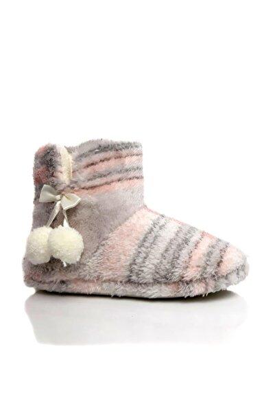 Moda Frato Modafrato Rp-flanel Kadın Panduf Ev Botu Ev Ayakkabısı