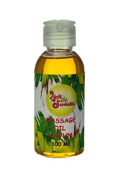 Lick Me Sweetie Kavun Aromalı Yenilebilir Erotik Masaj Yağı ve Kayganlaştırıcı Jel 100 ml