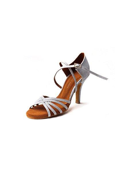 DANS AYAKKABISI Kadın Gümüş Penelope Platinium Ayakkabı