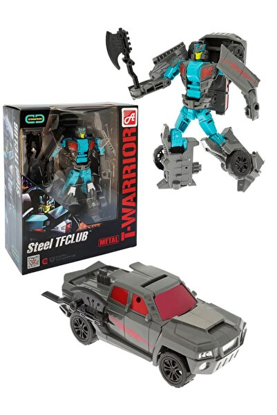 Gepettoys Transformers Dönüşen Robot Araba Dönüşen Robot