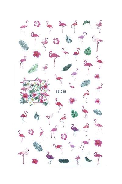 New Obsessions Flamingo Tırnak Sticker