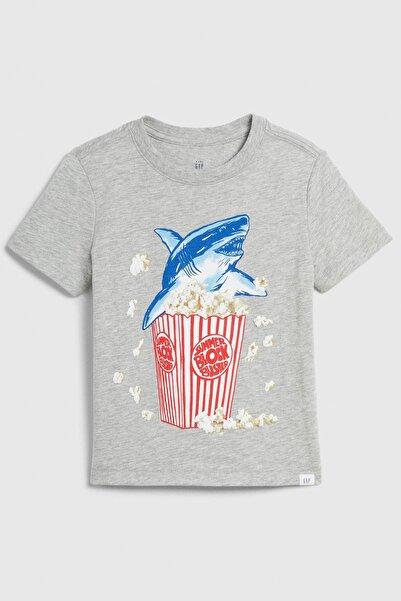 GAP Baby Erkek Bebek Grafik Kısa Kollu T-Shirt