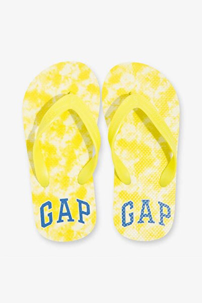 GAP Kids Erkek Çocuk Logo Parmak Arası Terlik