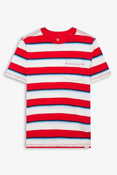 GAP Kids Çizgili Kısa Kollu T-Shirt