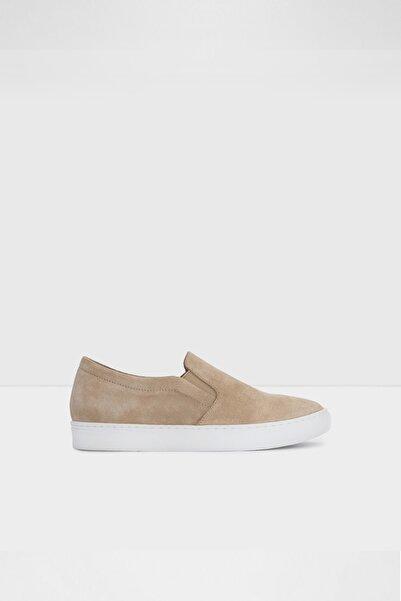 Aldo Kadın Koyu Bej Suni Deri Sneaker Ayakkabı